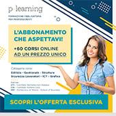Abbonamento P-Learning a un prezzo mai visto. Scopri l'offerta esclusiva
