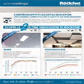 Controsoffitti Rockfon: soluzioni specifiche per l'acustica