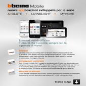 Bticino mobile: nuove App per Axolute, Livinglight e MyHome