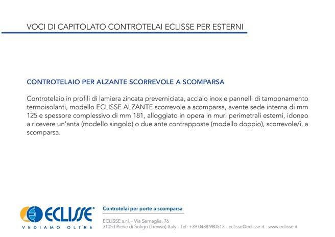 ECLISSE Alzante