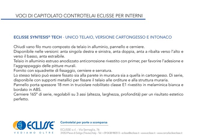 ECLISSE Syntesis® Tech