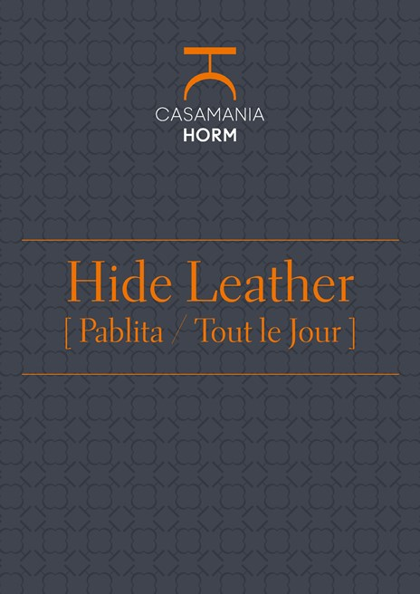 Hide leather