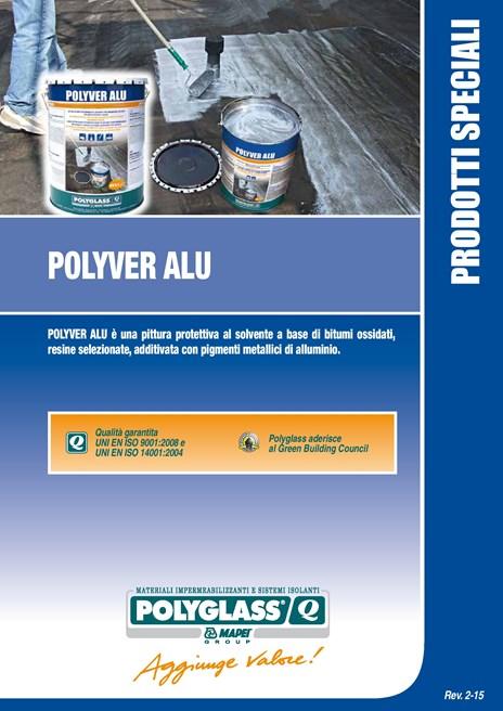 Pittura protettiva al solvente POLYVER ALU - POLYGLASS