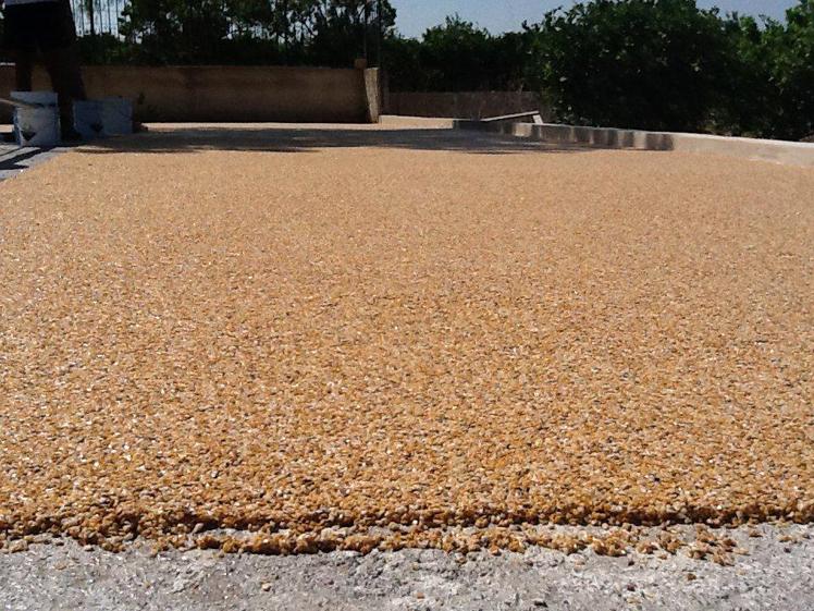 Ripristina le superfici in cemento con i pavimenti stampati stone