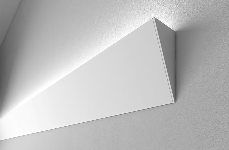 Illuminazione diffusa o radente flik flok by lucifero s