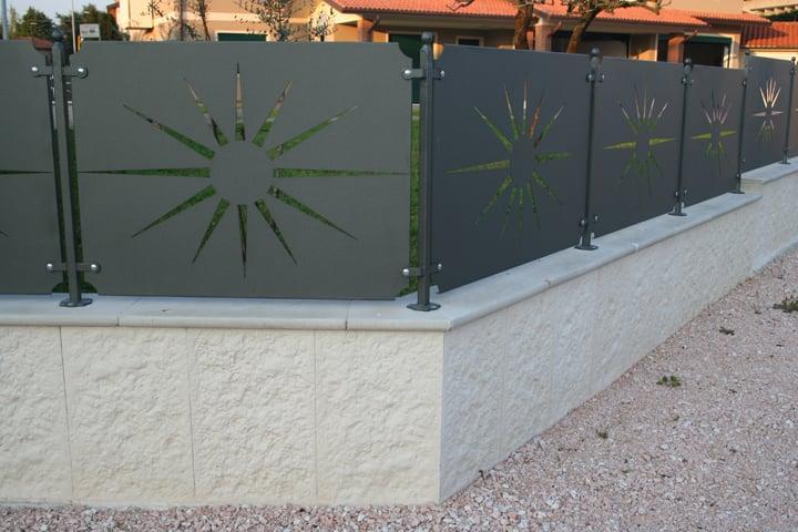 Muri Di Recinzione Modulari Prefabbricati Facili Da Installare Maspe