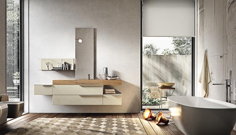 Arredo bagno edon collezione giunone by agor group - Agora mobili bagno ...