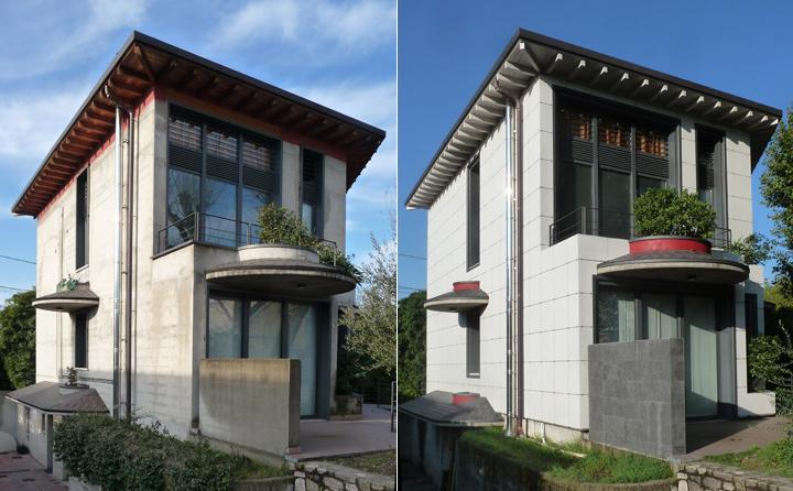 Facciata ventilata isotec parete guarda la case history