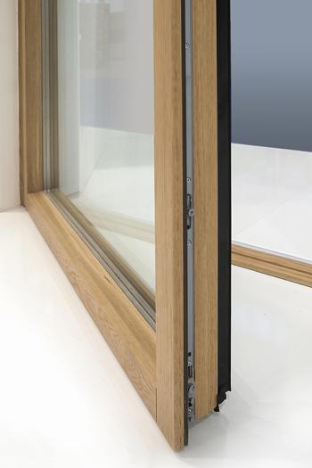 Finestre e portefinestre in alluminio e legno de carlo minimalwood - Finestre de carlo ...