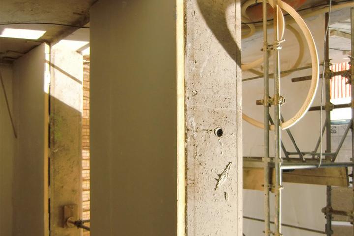 Isolamento termico dall interno con pannelli rp e cartongesso