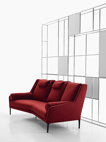 B b italia presenta il nuovo divano douard for B b italia novedrate