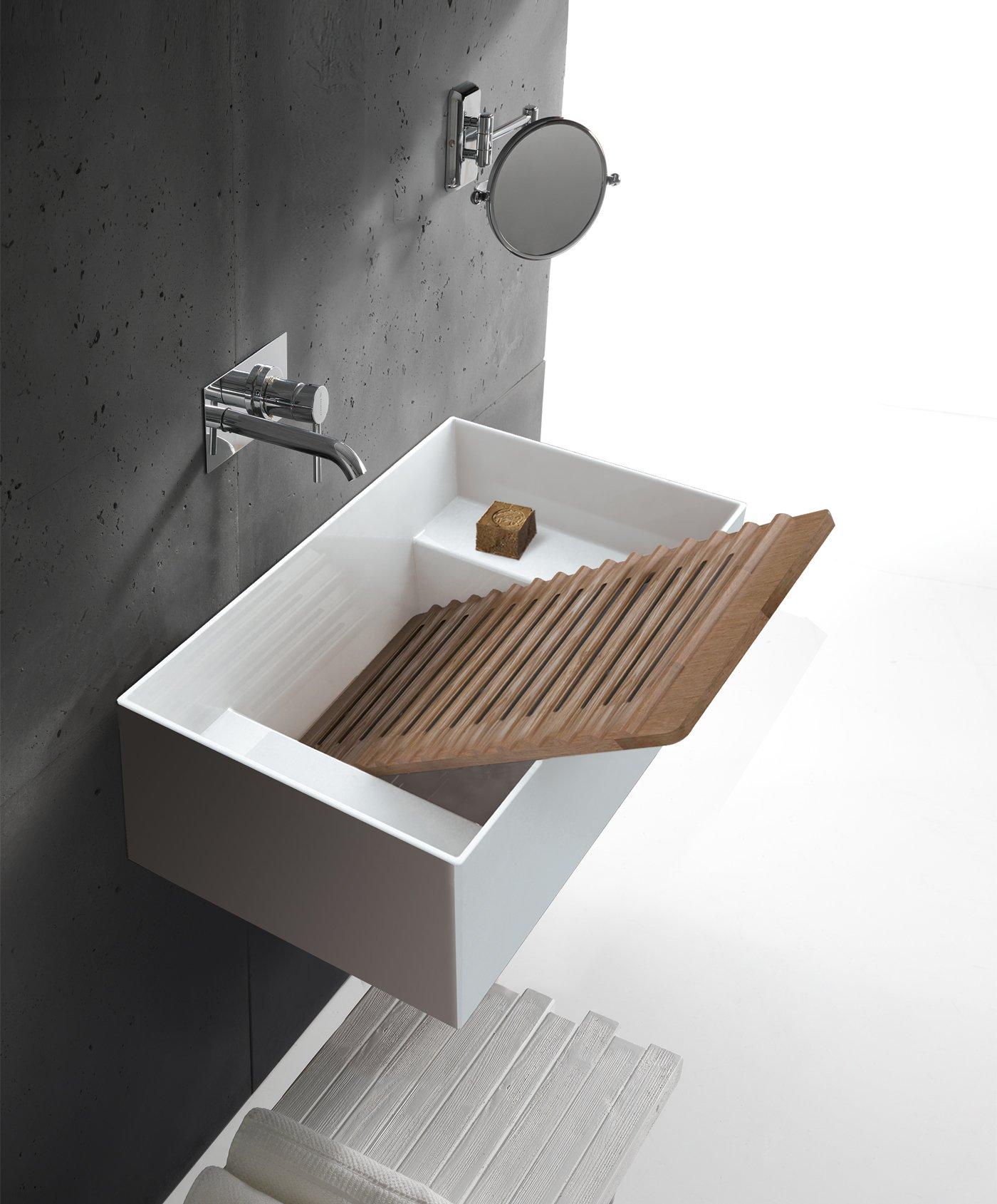 Tubo Scarico Lavandino Bagno lavabo scarico laterale
