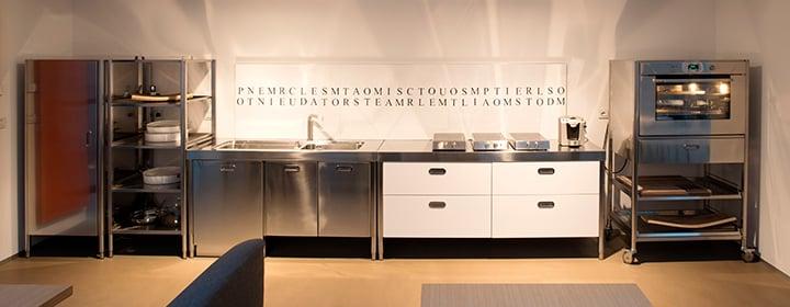 Cucine in acciaio modulari personalizzabili alpes inox - Cucine vitali prezzi ...