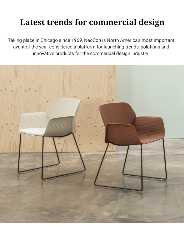 Latest trends for commercial design