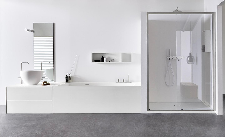 Vasca Da Bagno Freestanding Polaris : Nuove composizioni per il tuo bagno unico by rexa design