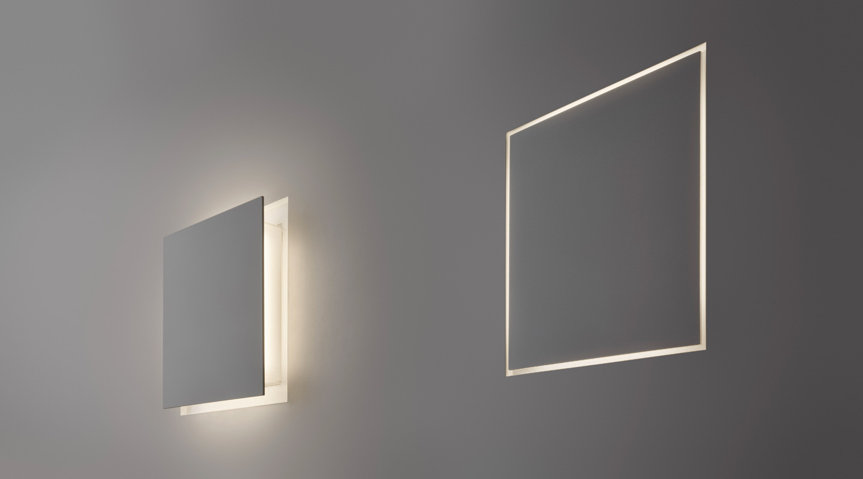 Aldecimo lampada a led da parete a scomparsa