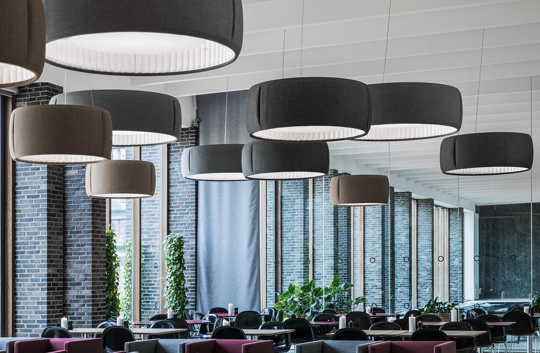 Illuminazione design e comfort acustico by luceplan