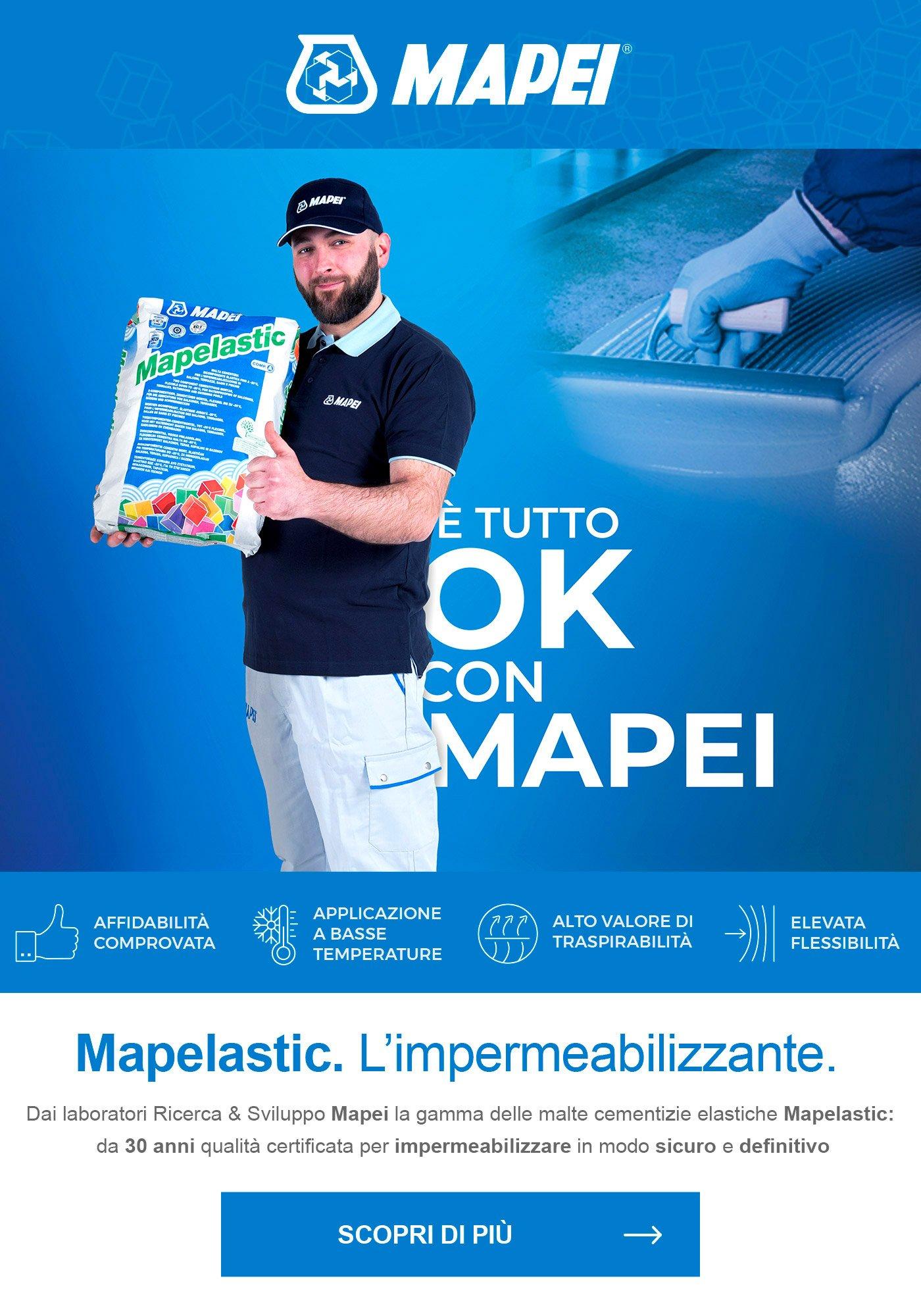 Mapelastic L Impermeabilizzante Di Mapei