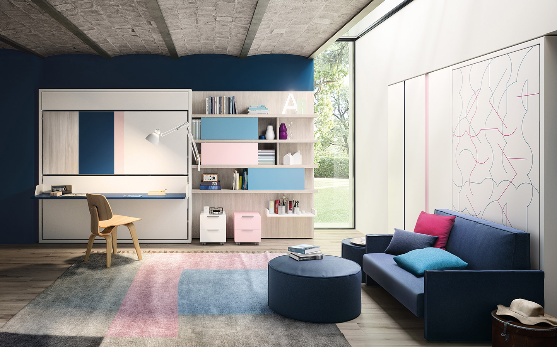 Abitare lo spazio flessibile: arredi multifunzionali Clei