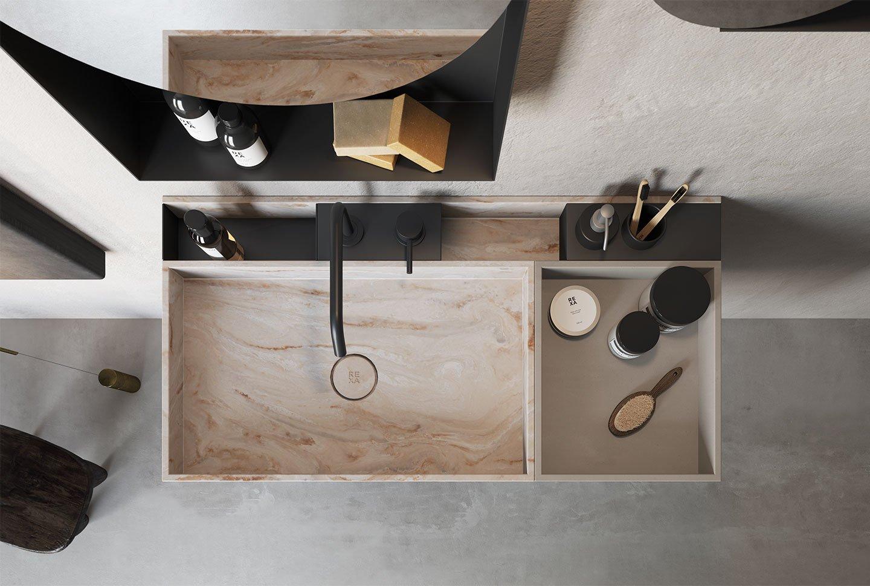 Carpentieri Edili In Svizzera rexa design washbasins: aesthetic and functionality for