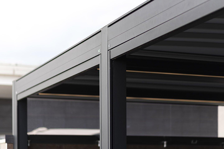 Carpentieri Edili In Svizzera aluminum pergola gennius isola 3 by ke outdoor design