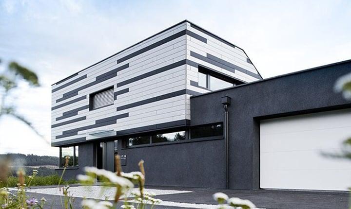 Rivestimento Esterno In Legno Per Case : Camera casa con rivestimento esterno di raccordo del cedro rosso