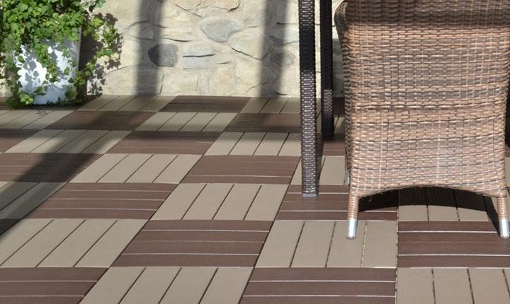 Piastrelle Verdi Per Giardino : Pavimenti da giardino e decking ispirazioni