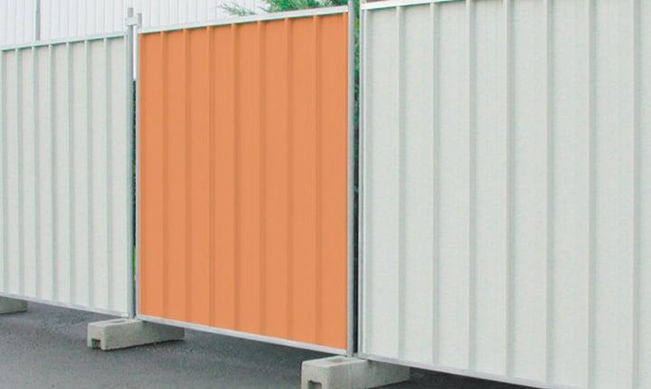 Recinzioni temporanee e mobili per il cantiere
