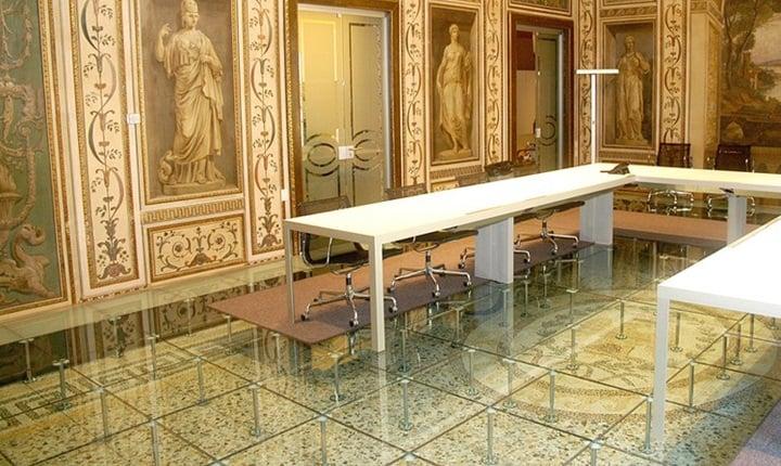 Sistemi modulari per pavimenti sopraelevati