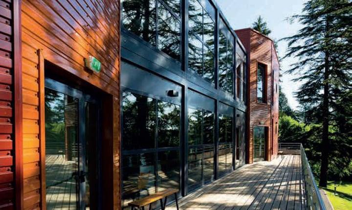 Case Prefabbricate Stile Francese : Case prefabbricate oggi sono modulari pieghevoli o stampate