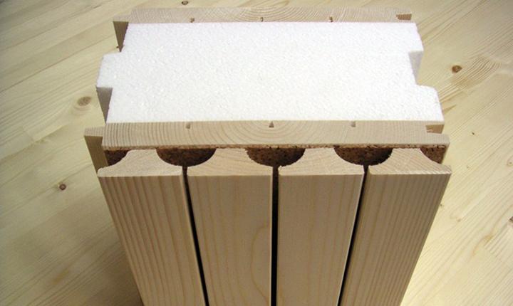 Pareti In Legno Prefabbricate : Costruire con il legno