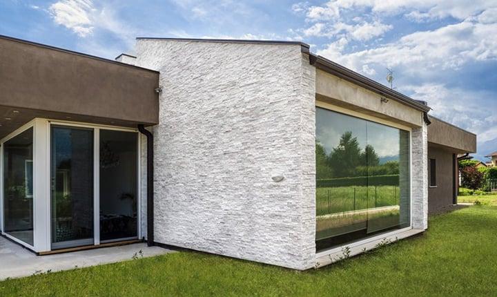 Il miglior rivestimento per facciate ecco come sceglierlo for Facciate case moderne