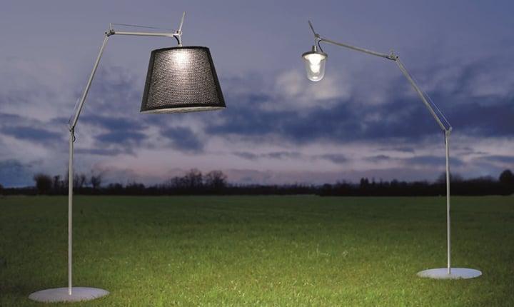 Luci a palla per esterno: lampada palla da esterno diffusore per
