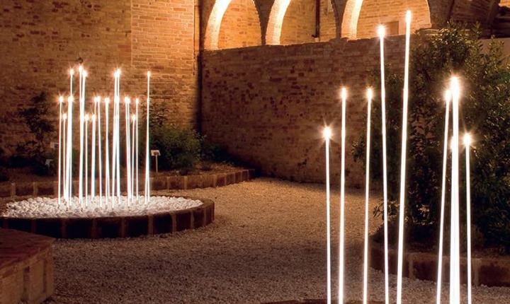 Illuminazione Esterna Regole : Come illuminare gli spazi esterni