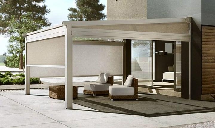 Pergolati Da Giardino In Alluminio : Come realizzare verande pergolati e tettoie per vivere gli spazi