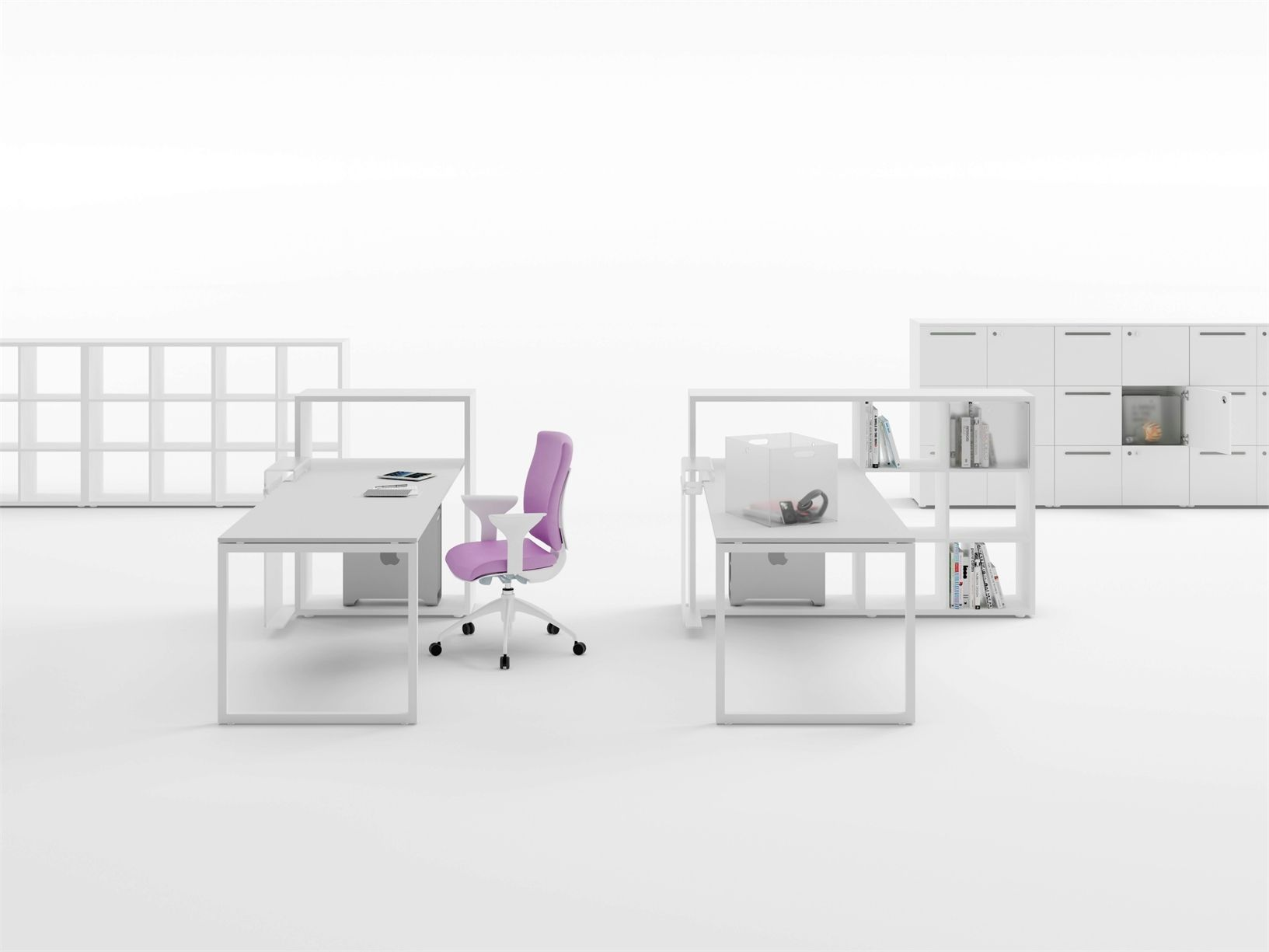 Fantoni Interprets New Standards For The Office # Muebles Fantoni