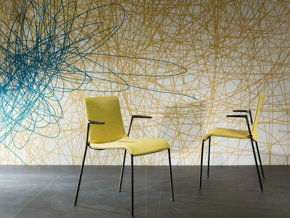 Walter Knoll Design Fauteuil.Graphic Art At The Walter Knoll Stand At Imm Cologne 2013