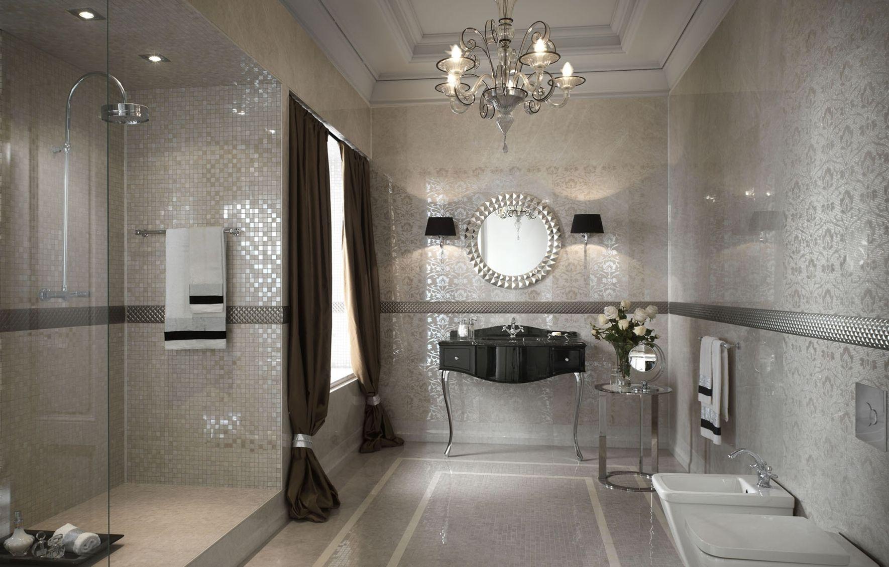 Bagno mosaico nero cool piastrelle mosaico bagno cucina wc