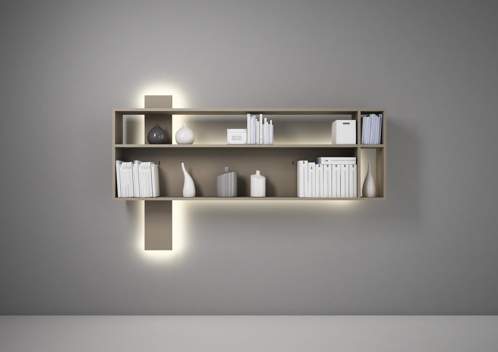 Librerie Sospese A Muro. Cool Mensole With Librerie Sospese A Muro ...