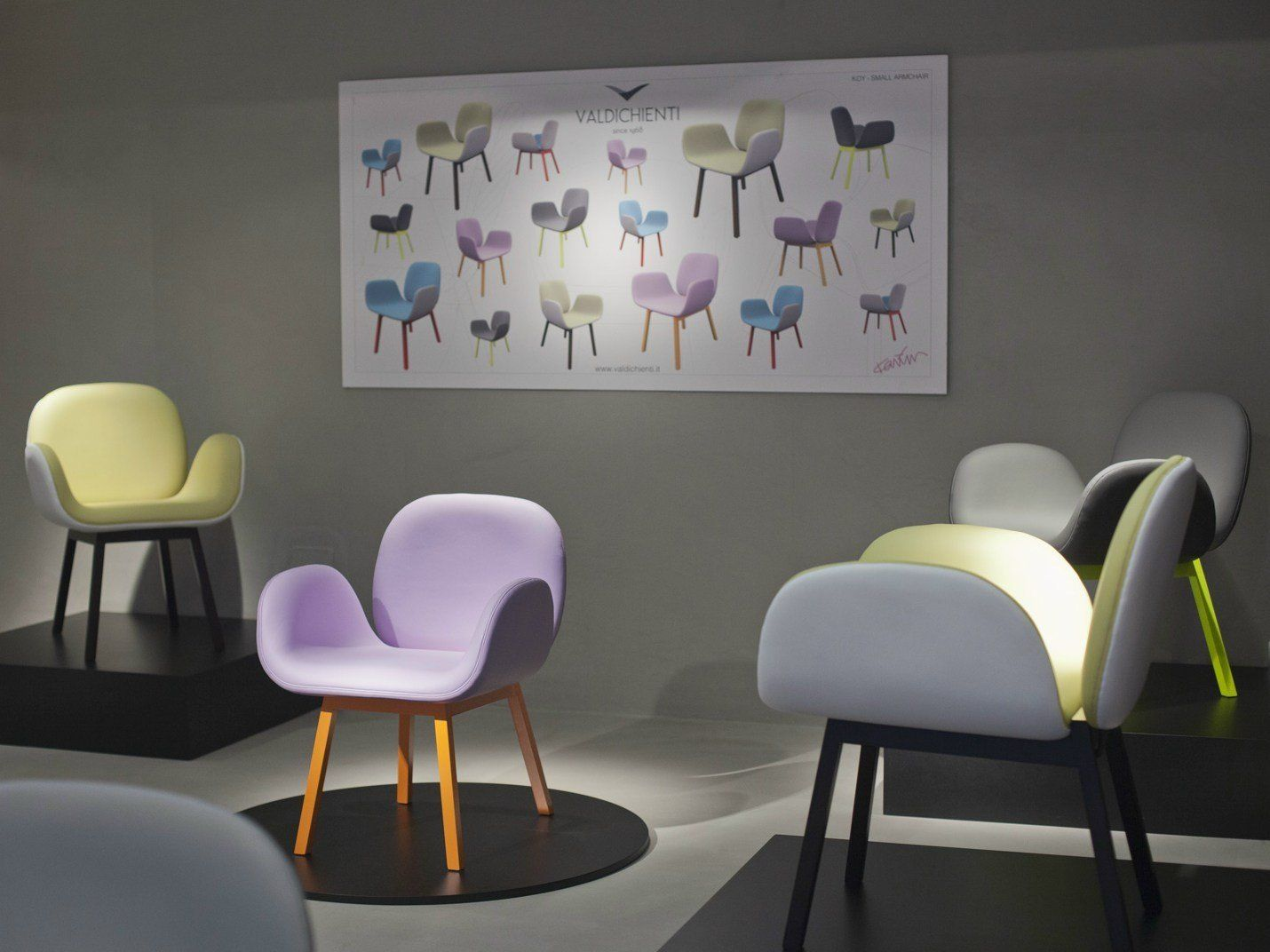 The new Valdichienti creations on show at iSaloni