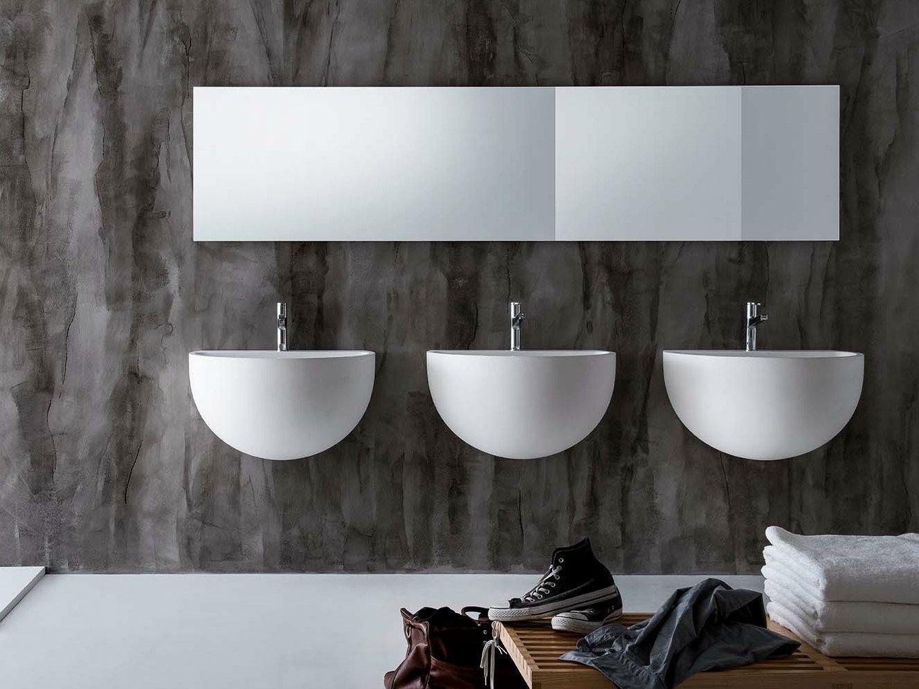 Design reflection: the new falper washbasins at bologna water design