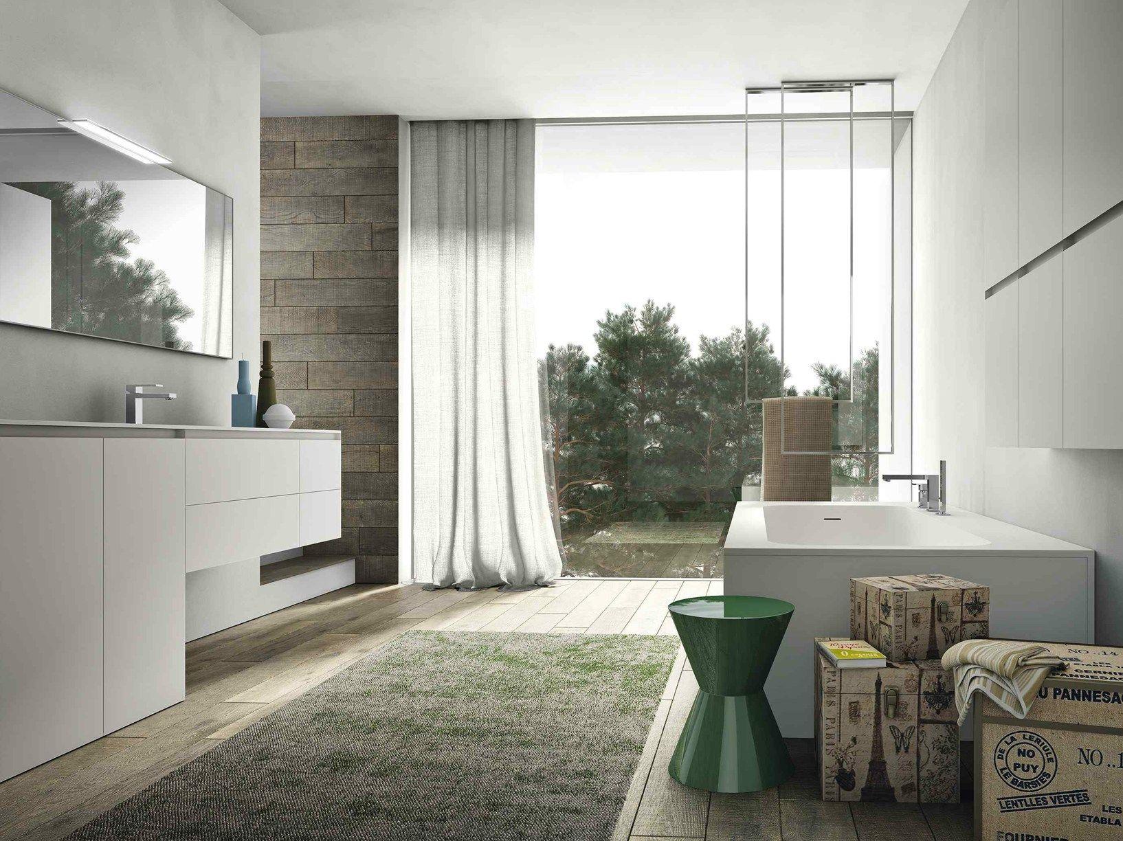 Il design contemporaneo di ideagroup al cersaie - Arredo bagno contemporaneo ...