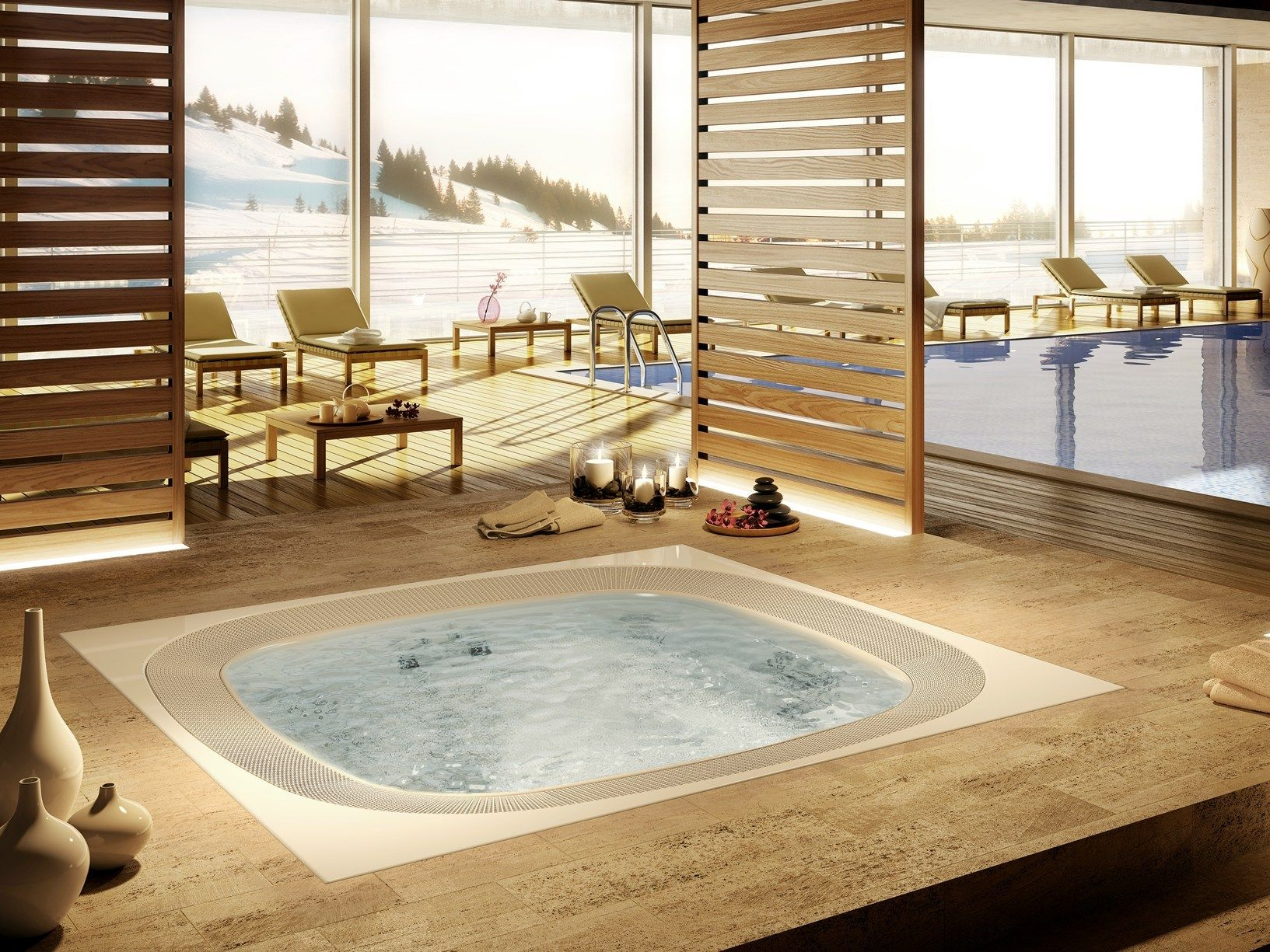 New Jacuzzi® professional spa at iSaloni