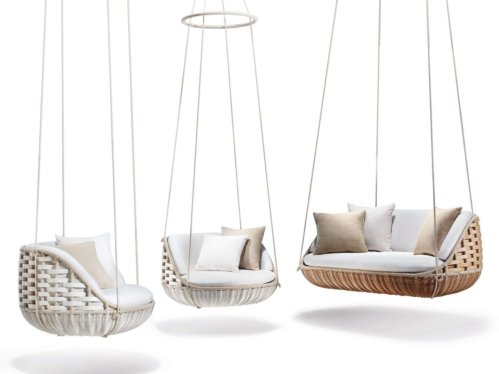 Admirable Dedon Presents Swingme And Swingus Short Links Chair Design For Home Short Linksinfo