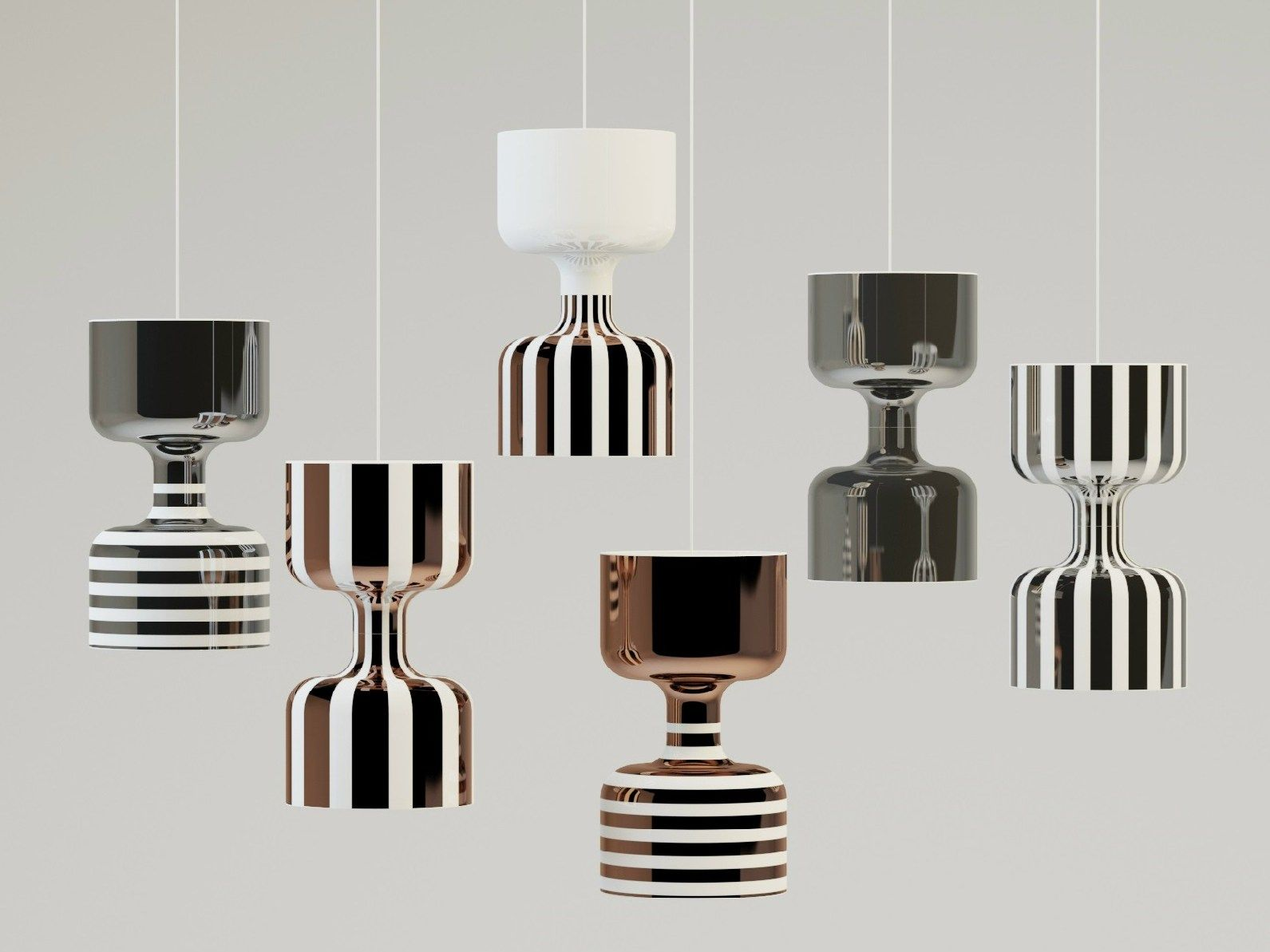 Chapiteau, the new lamps collection by Ekaterina Elizarova for Bosa ...