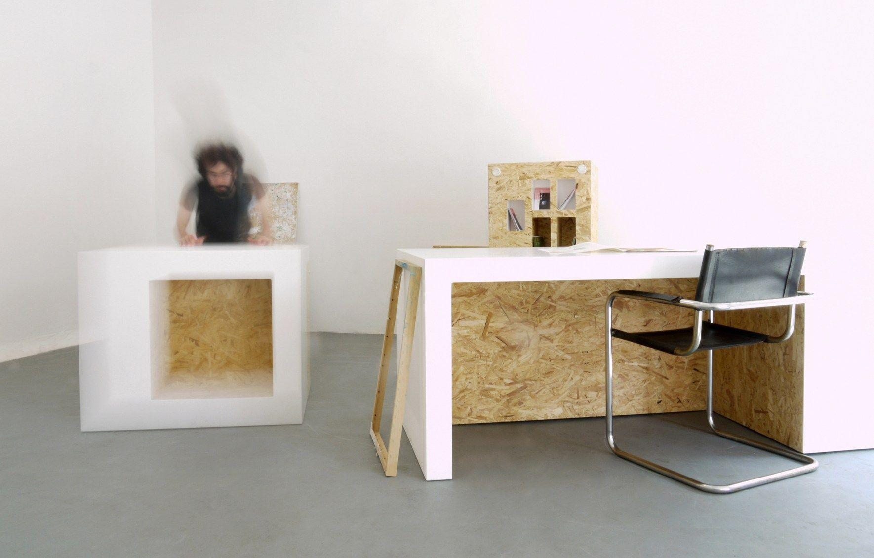 Polpo Experimenta Con El Material De Piedra Acr Lica Hi Macs Y  # Muebles Hi Macs
