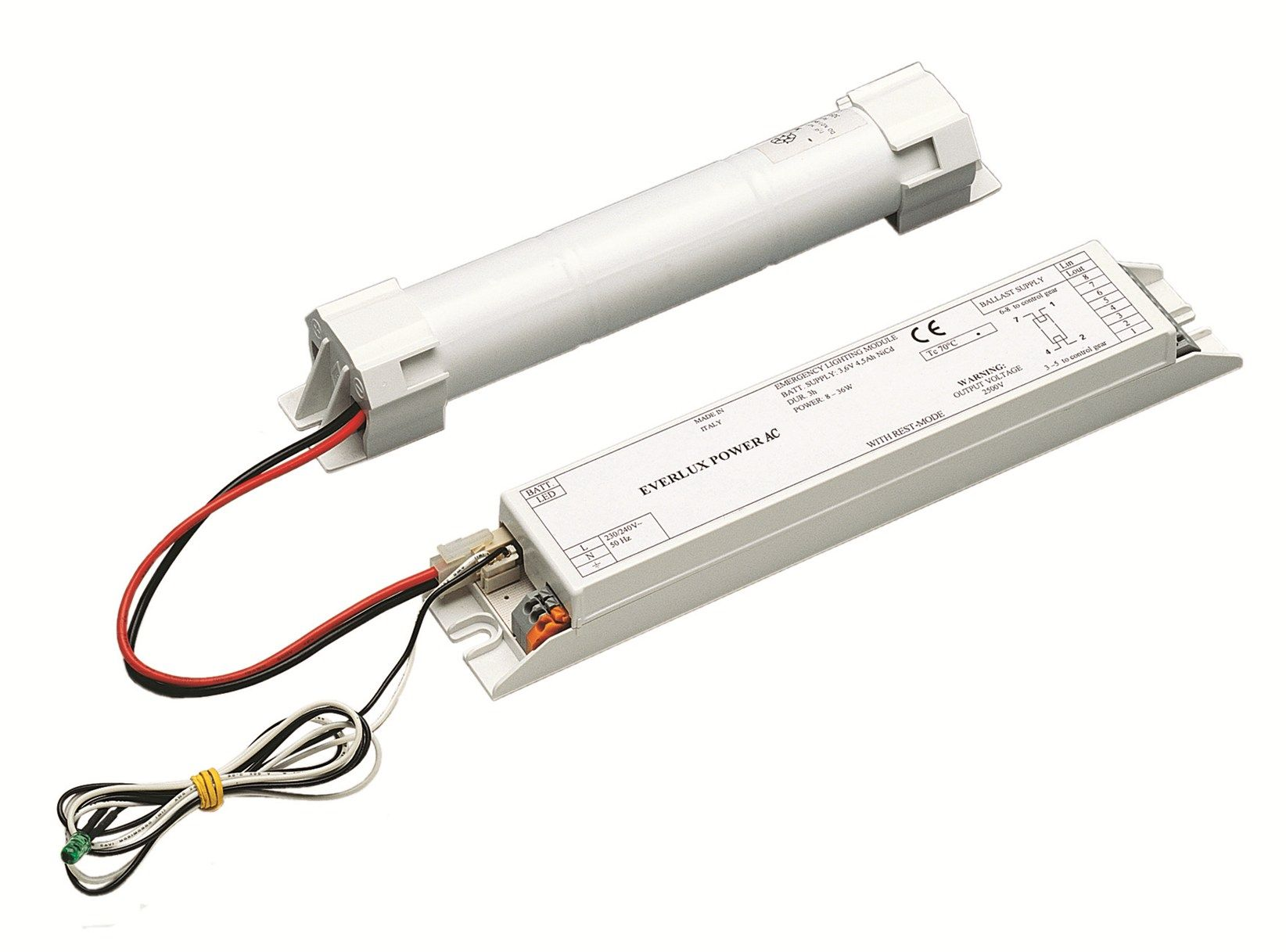 Plafoniere Con Luce Emergenza : Schneider electric presenta evx power ac: kit di illuminazione
