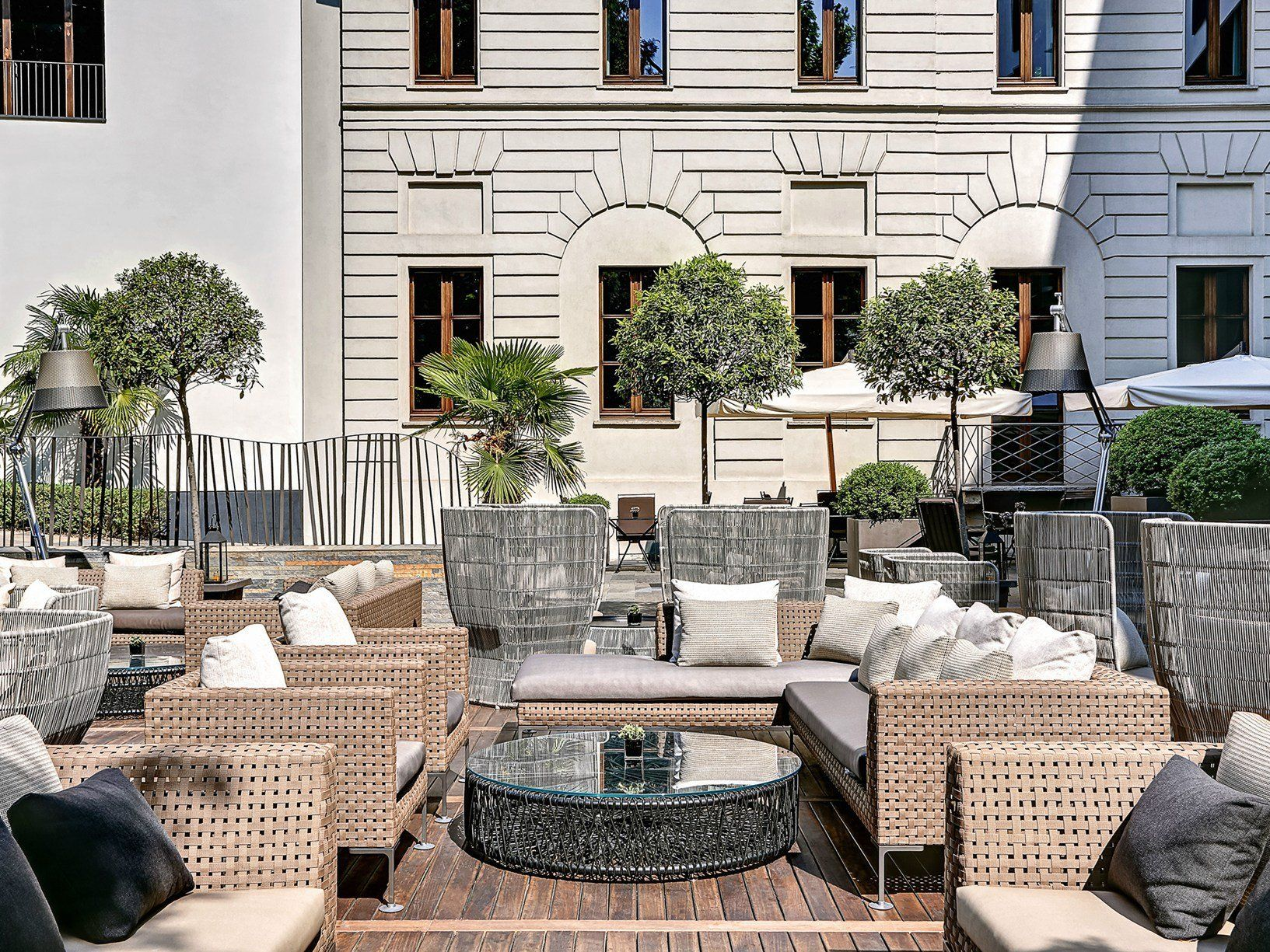 relaxing oasis in the heart of Milan