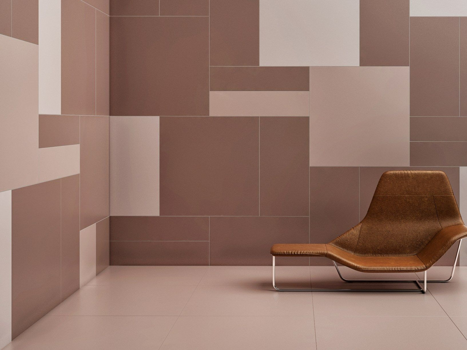 New colors, textures and materials for walls and floors