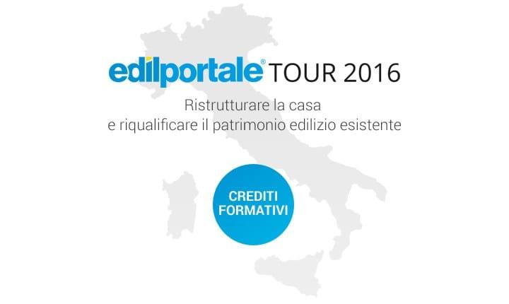 Boom di iscrizioni per 'Edilportale Tour 2016'